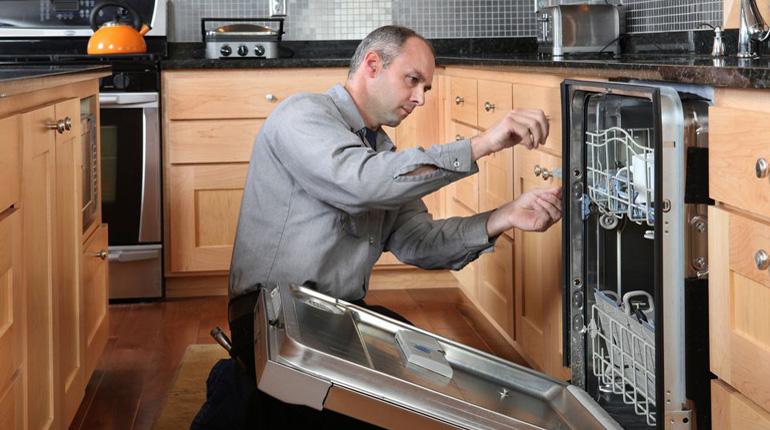 Installing-Dishwasher