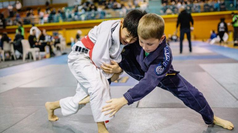 benefits kids BJJ Training