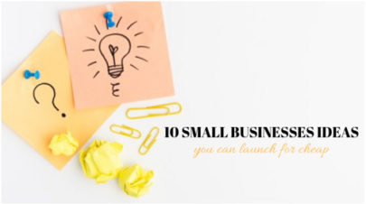 small profitable businesses ideas
