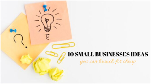 small profitable businesses ideas