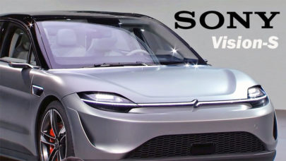 Sony Vision-S Car Concept