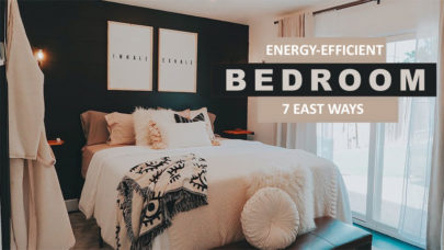 Energy-Efficient Bedroom