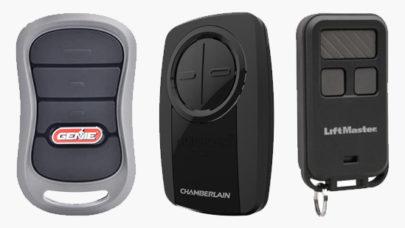 Garage Door Remote Brands