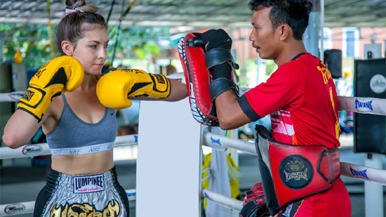 Muay Thai Boxing in Thailand for Good Health