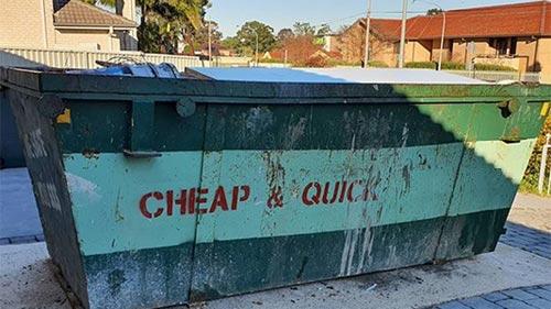 Benefits Renting Garage Waste Bins