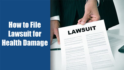 File-Lawsuit-Health-Damage
