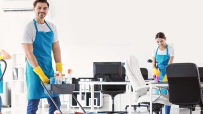 Daily Office Cleaning Checklist