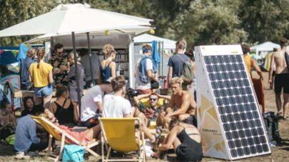 Event Using Solar Power