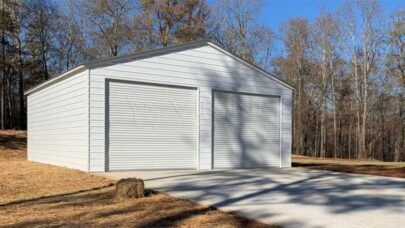 Galvanized Steel Metal Garage