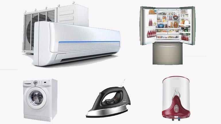 Home Appliances Consume Electricity