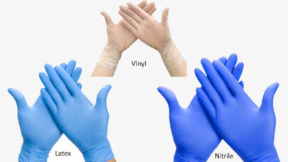 Latex,-Nitrile,Vinyl-Gloves