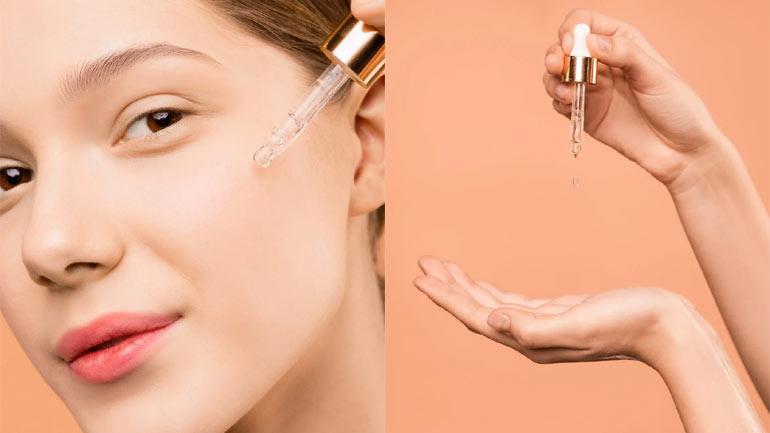 Gold Face Serum Skin