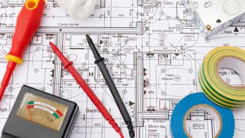 Home Electrical Layout Plan