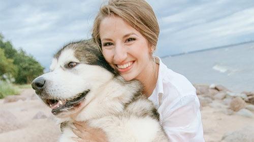 Healthier Dog Fur and Parent
