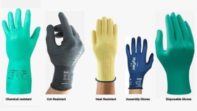 Industrial Safety Glove Types