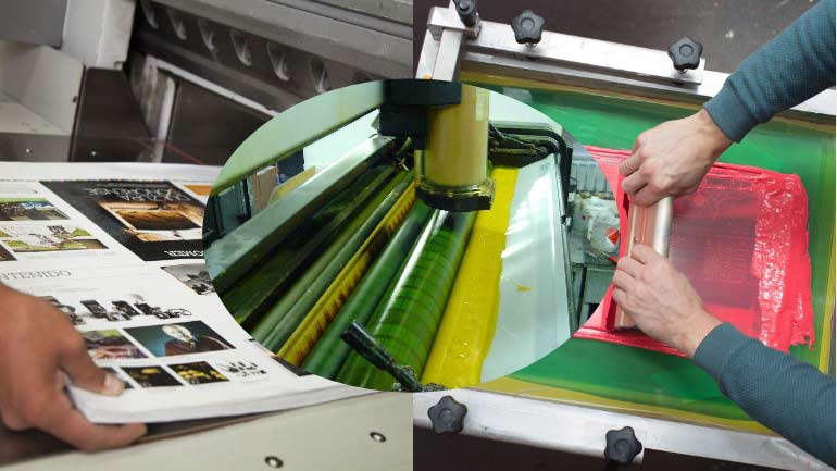 Offset Litho Digital Screen Printing
