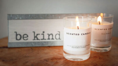 Scented-Candles-For-Romantic-Dinner