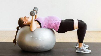 Exercise Balls Help Body Toning