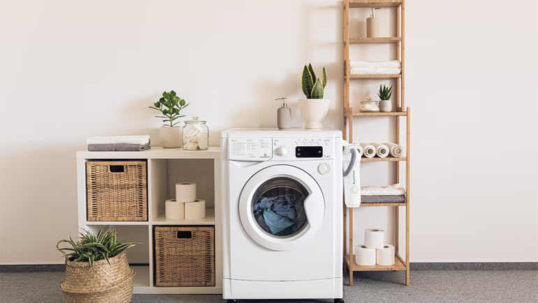 Maximise Small Laundry Space