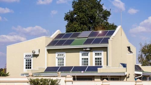 Solar Panels Rain & Shad Sunlight Charge Battery