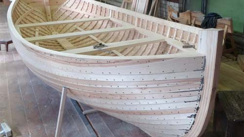 Copper Nails Used Boat Building