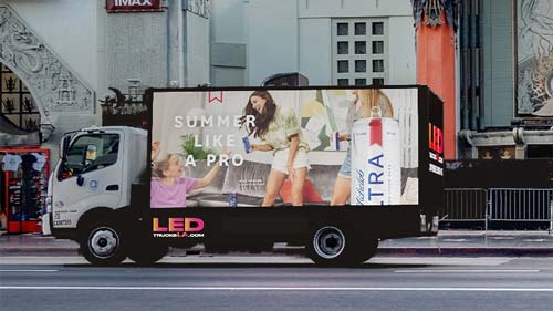Mobile Billboards Advertising option
